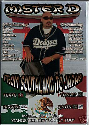 01 SOUTHLAND TO JAPAN DVD