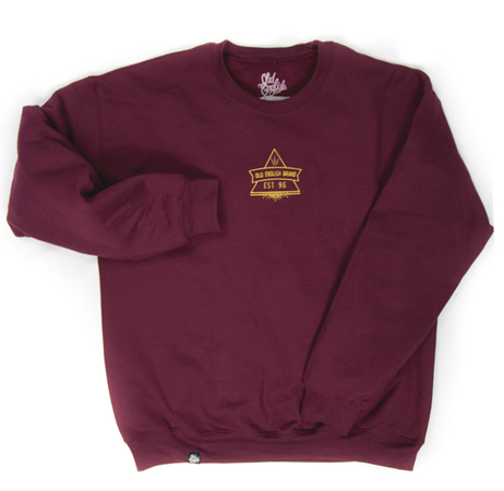 Secret Society Crewneck (Maroon)