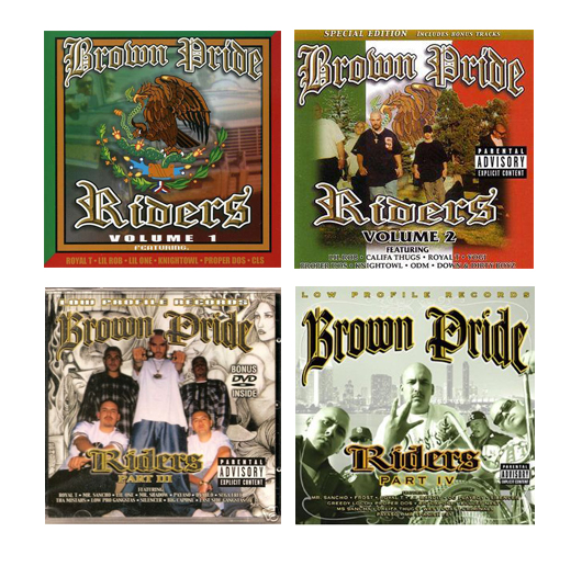 Brown Pride Riders CD Collection