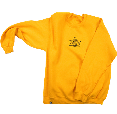 Secret Society Crewneck (Gold)