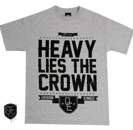 Heavy Lies The Crown- Urban Kings X Old English Brand