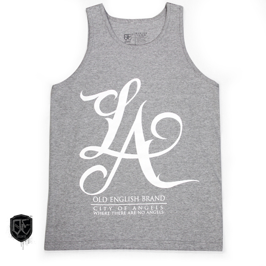L.A Tank Top Heather Gray