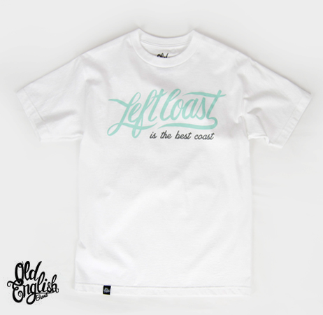 OE Left Coast Tee in White