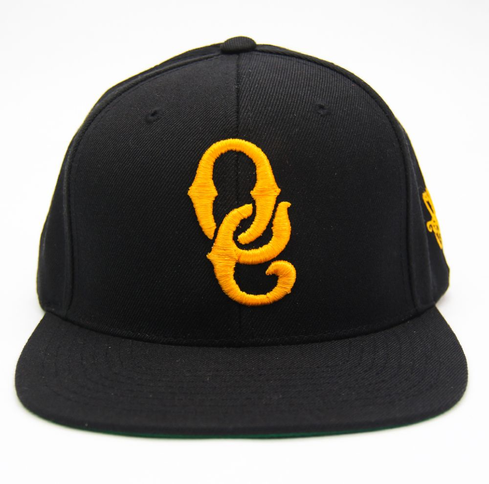 OE RETRO snapbacks - Wu Yellow