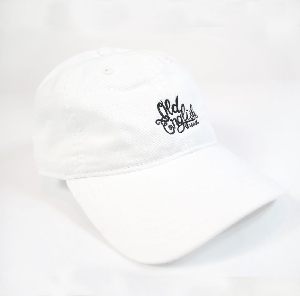 OE White Dad Hat