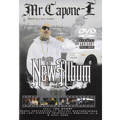 Mr Capone E - The Making Of The New Album DVD