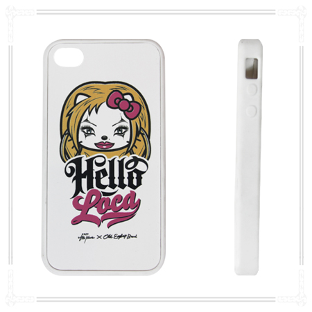 LIMITED PRICE White Hello Loca iPhone case