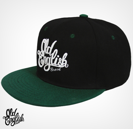 Members Only OE Black & Green Snapback