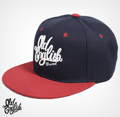 Members Only OE Navy Blue & Red Snapback