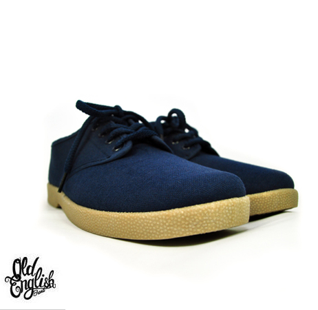 Navy blue and Gum Wino's
