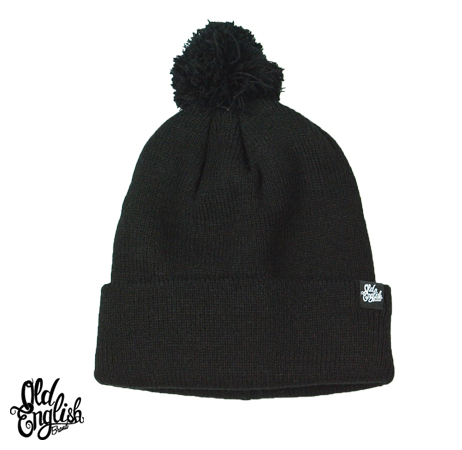 OE Pom Beanie in Black