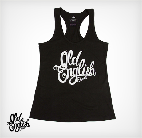 OE Racerback Tank in Black