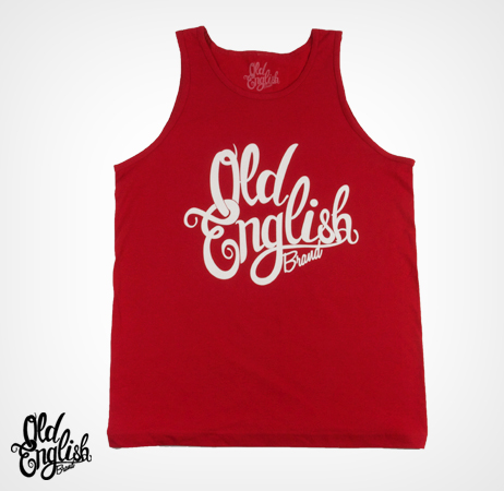 OE Logo Red Tank Top