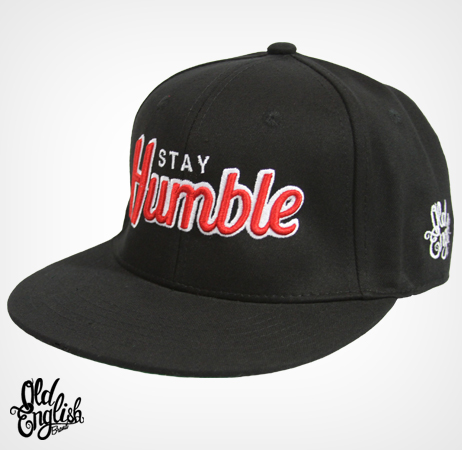 Stay Humble Black And Red