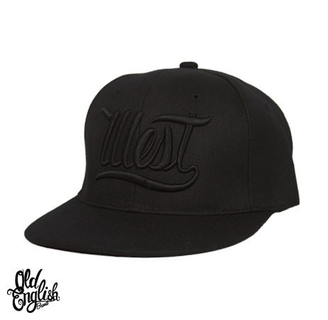 West OE All Black Snapback