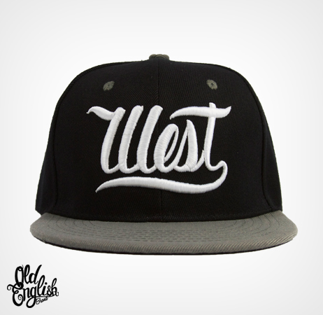 West OE Black & Grey Snapback