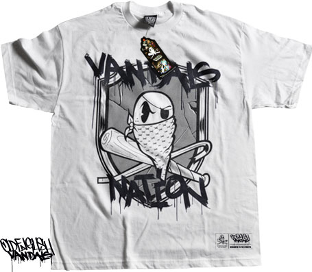 OE Vandals Nation - Exclusive White Shirt