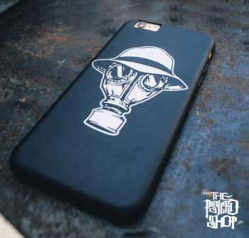 Psycho Realm - Gas Mask Iphone 6 Case