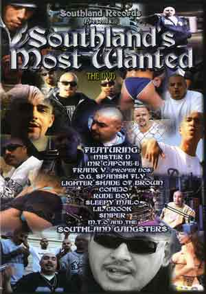 SouthLand Most wanted Dvd