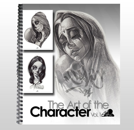 The Art Of Character Vol 1  reference book