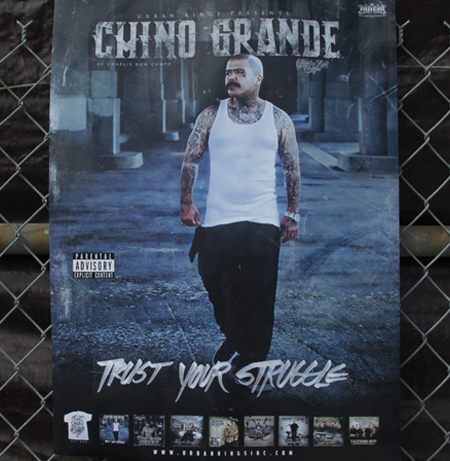 Chino Grande - Trust Your Struggle - 5 VIP Poster Autograph Package