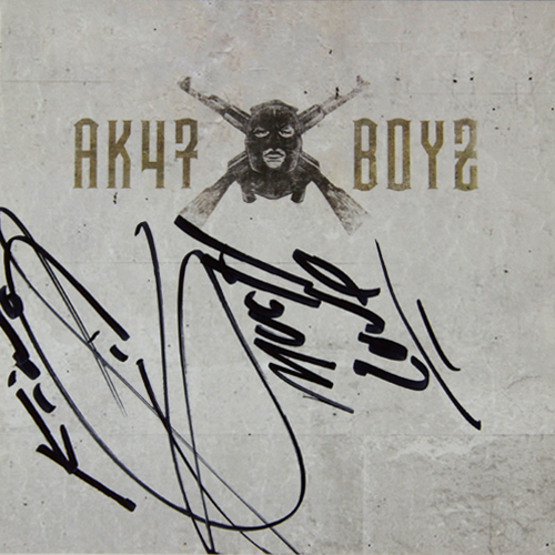 King Lil G - AK 47 Boyz - Autographed CD