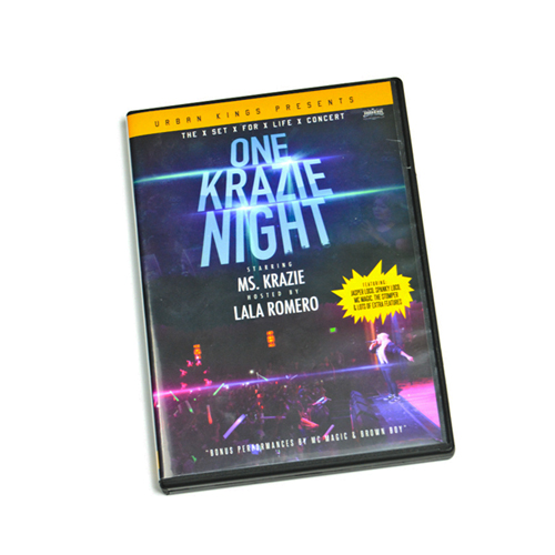 The xSetForLifex One Krazie Night DVD