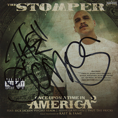 Stomper - Once Upon A Time In America 2 - Autographed CD