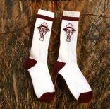 The Psycho Realm GM Socks - BURGUNDY