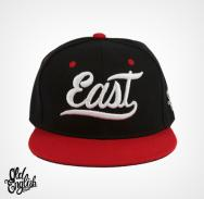 East OE Black & Red Snapback