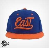 East OE Blue & Orange Snapback
