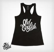 "OE ""Racerback"" Tank in Black"