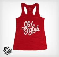 "OE ""Racerback"" Tank in Red"