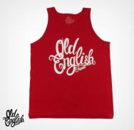 "OE ""Logo"" Red Tank Top"