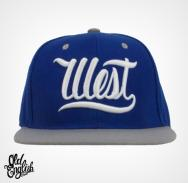 West OE Blue & Grey Snapback