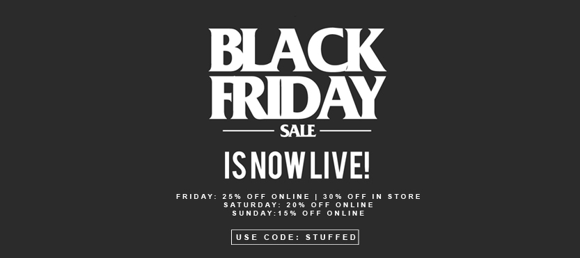 Black Friday is live!